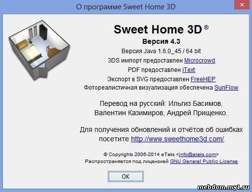 Sweet Home 3D 4.3 Final