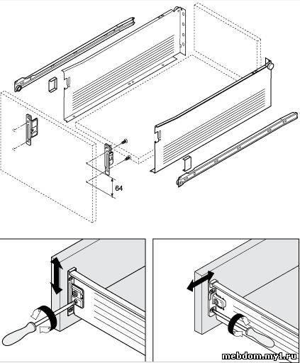 Установка, расчет, монтаж, инструкция, регулировка, видео AVENTOS HF 571