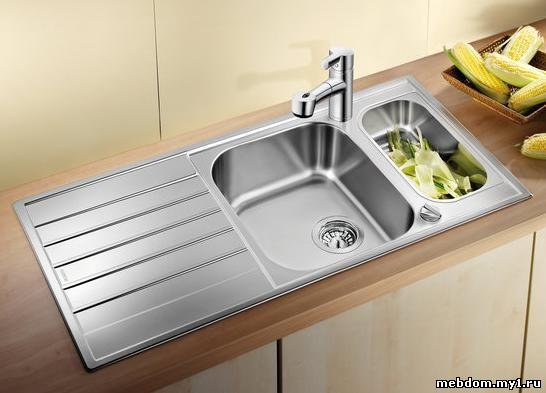 Jenis Sinki Dari Keluli Tahan Karat Terdapat Hanya Dua Daripadanya Laskan Dikimpal Penutupan Dibuat Lembaran Tunggal