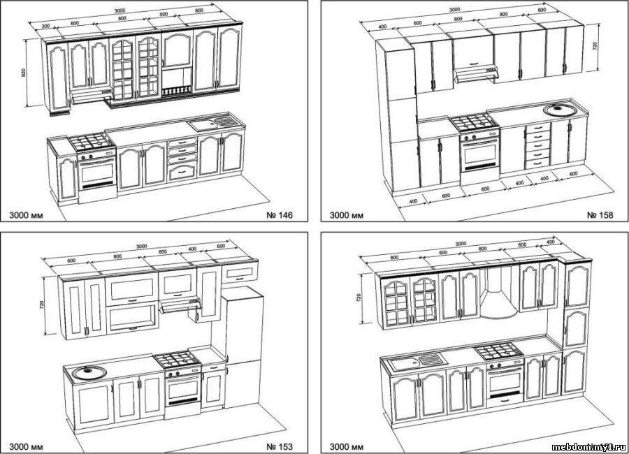 Кухонная мебель своими руками чертежи и схемы видео